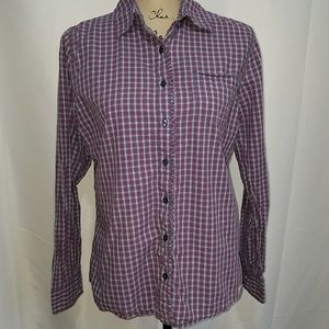 Carhartt for women button up M 8/10 plaid